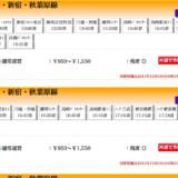 東京-群馬間は電車より高速バスがオススメ。安くて座れます