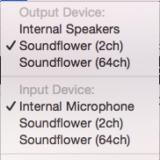 Macでネット通話の音声を録音する方法(Soundflower, LadioCast, GarageBand)